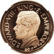 Sovereign - Edward VIII (gold) – avers