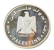 10 dinars (Réplique) – avers