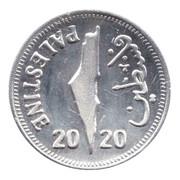 1 pound (Argent) – avers
