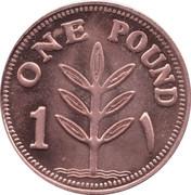 1 pound (Cuivre) – revers