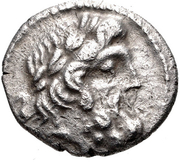 Hemidrachm (Pallantion) – avers