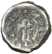 Dinero Hugues Roger III – avers