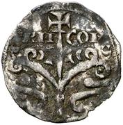 Dinero Alphonse I Jaca – avers