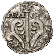 Dinero Sanche V buste primitif à gauche – revers