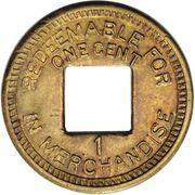 1 cent (Leprosarium de Palo Seco) – revers