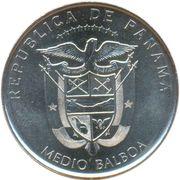 ½ balboa (Concepción) – avers