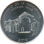 ½ balboa (Concepción) – revers