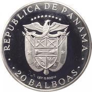 20 Balboas (Descubridor) – avers