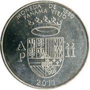 ½ balboa (Monnaie de 1580) – revers