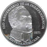 20 balboas (150ème anniversaire de l'indépendance) – revers