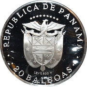200th Anniversary Birth of Bolívar – avers