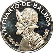¼ Balboa – revers