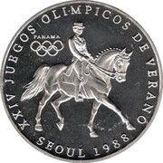 1 Balboa (Jeux Olympiques Séoul 1988) – revers