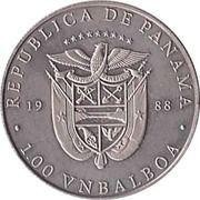 1 Balboa (John F. Kennedy) – avers