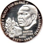 1 Balboa (Martin Luther King) – revers