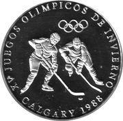 1 Balboa (Jeux olympiques d'hiver Calgary 1988) – revers