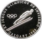 1 Balboa (1988 Winter Olympics Calgary - Ski Jumping) – revers