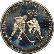 1 Balboa (1988 Winter Olympics Calgary - Hockey) – revers