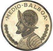½ balboa (Essai) – revers