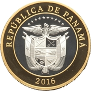 20 Balboas (Construction of the Panama Canal) – avers