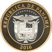 20 Balboas (Reversion of the Panama Canal) – avers