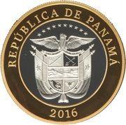 20 Balboas (100th Anniversary of the Panama Canal) – avers