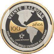 20 Balboas (A Century Uniting the World) – revers