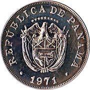 5 centésimos -  avers