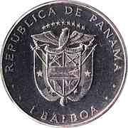 1 balboa (Général Torrijos) – avers