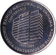 50 centésimos (Banque Nationale) – revers