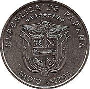 ½ balboa (Découverte océan Pacifique) – avers