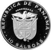 10 balboa (Juego de la Balseria) – avers