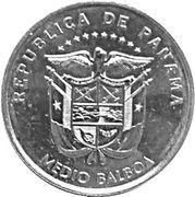 ½ balboa (Couvent de San José) – avers