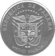 ½ balboa (Convento de la Concepción) – avers