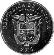 ¼ balboa (Agrandissement du canal de Panama) -  revers