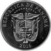 ¼ balboa (100ème anniversaire du canal de Panama) -  revers