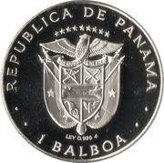 1 balboa – avers