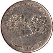 25 centésimos (Puente del rey) – avers