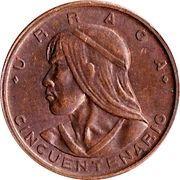1 centésimo (Cinquantenaire) -  avers