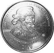 1/2 balboa (500 ans de la fondation de la ville de Panama) – revers