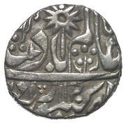 1 Rupee - Shah Alam II (Hindupat Singh) – avers