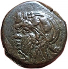 Bronze Æ20 (Pantikapaion) (275 BC - 245 BC) – avers