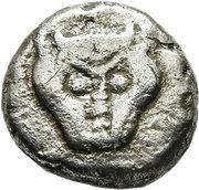 Diobol (?Triobol) – avers