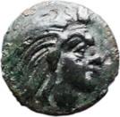 Bronze Æ17 (Pantikapaion) (275 BC - 245 BC) – avers