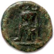 AE Dichalkon - Mithridates VI Eupator (Star/Tripod type) -  avers