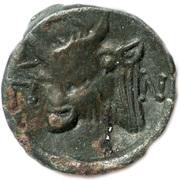 Lepta - Perisad II (Satyr - Bull) -  avers