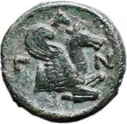 Bronze Æ17 (Pantikapaion) (275 BC - 245 BC) – revers