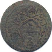 ½ baiocco - Clemens XI (Gubbio) – avers
