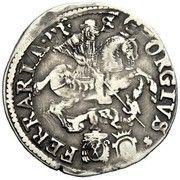 1 testone - Alexander VII – revers