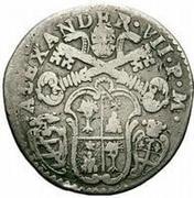 20 bolognini - Alexander VII – avers